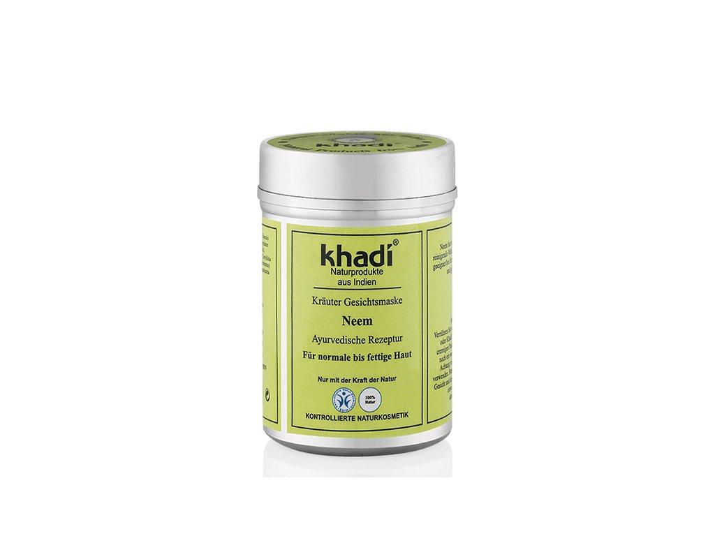 628 khadi bylinna pletova maska neem