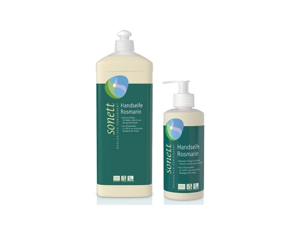 Sonett Tekuté mýdlo - rozmarýn BIO (Objem (ml) 300 ml)