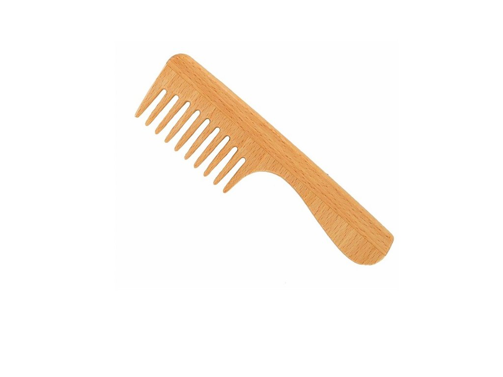 700 forster s vlasovy hreben z fsc certif bukoveho dreva s ridkymi zuby s rukojeti