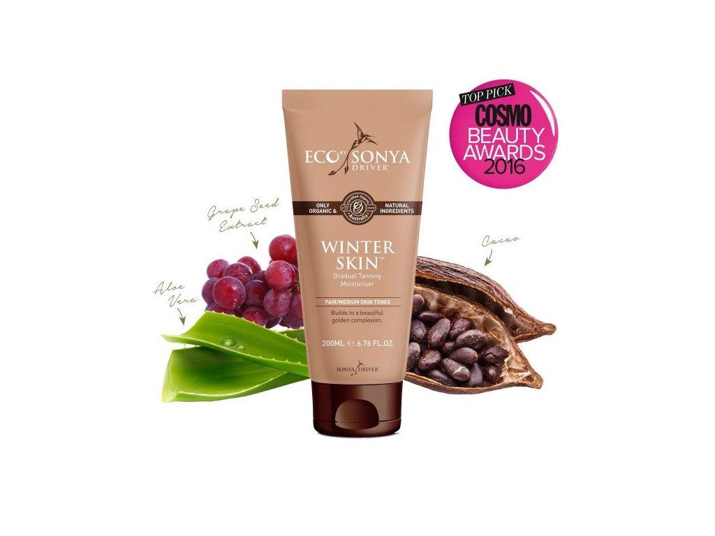 844 prirodni samoopalovaci mleko winter skin eco by sonya