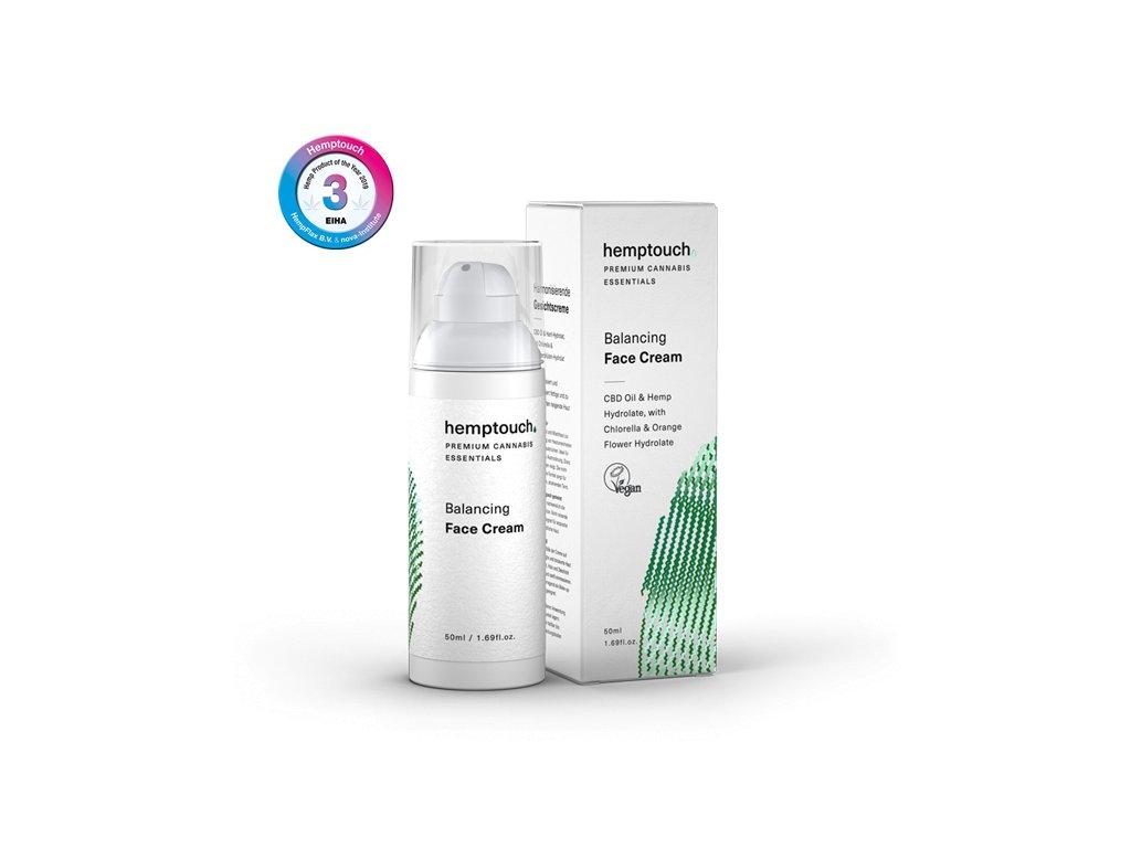 Vyrovnávající pleťový krém pro mastnou pleť Hemptouch (Plné balení / Vzorek (ml) vzorek 4 ml)