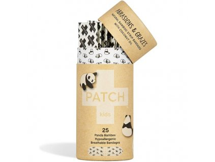2041 patch bambusove naplasti s kokosovym olejem pro deti