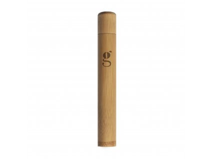 grums bamboo toothbruse case