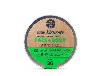 ze zeme raw elements eco face body spf 30