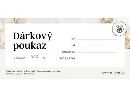 ZeZeme Poukaz 500 Kovarska 210x99