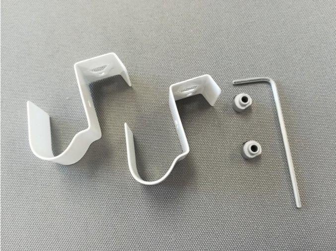 SADA č. 3 pro montáž vodícího silonu / bílá