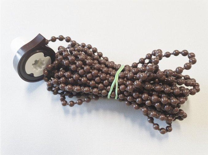 ZEBRAshop rolety KOMPLET řetízek 200cm hnědý
