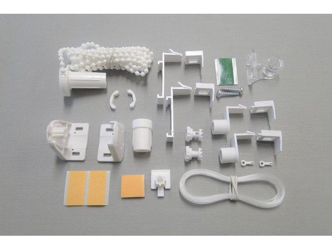 SADA náhradních dílů pro rolety MINI / THERMO / bílá