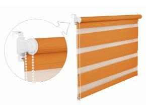 oranžová roleta zebra noc a den (5)