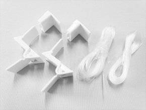 ZEBRAshop rolety KOMPLET SADA SK2 bílá