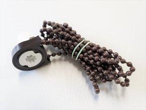 ZEBRAshop rolety KOMPLET řetízek 100cm hnědý