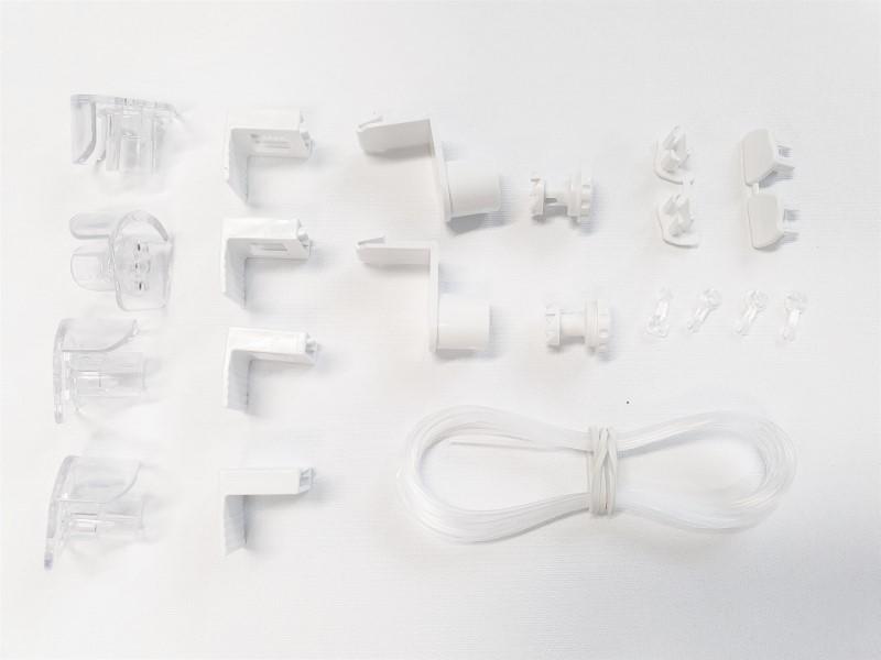 SADA č. 4 náhradní díly k roletám DEN A NOC / bílá