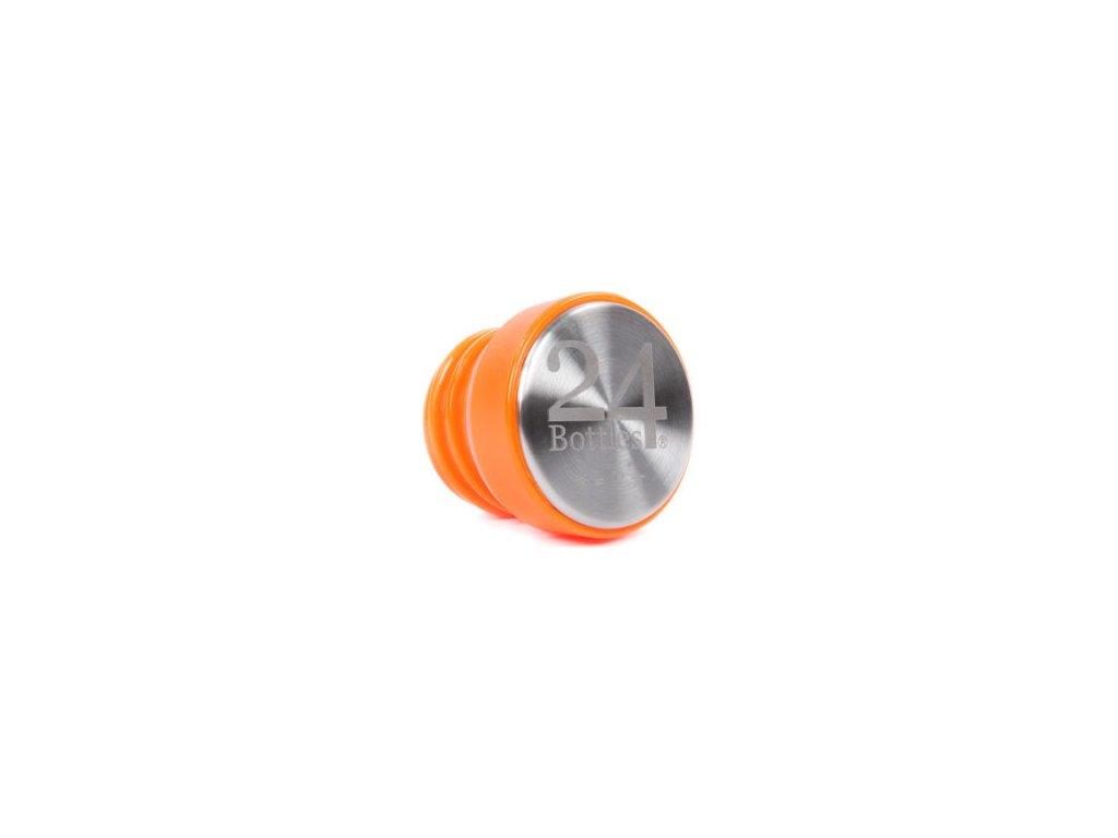 Uzávěr na láhev 24Bottles (Barva oranžová)