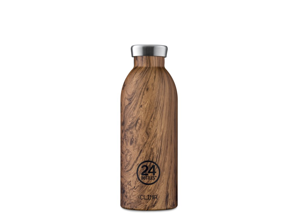 Termoska 24Bottles CLIMA SEQOUIA WOOD 0,5l