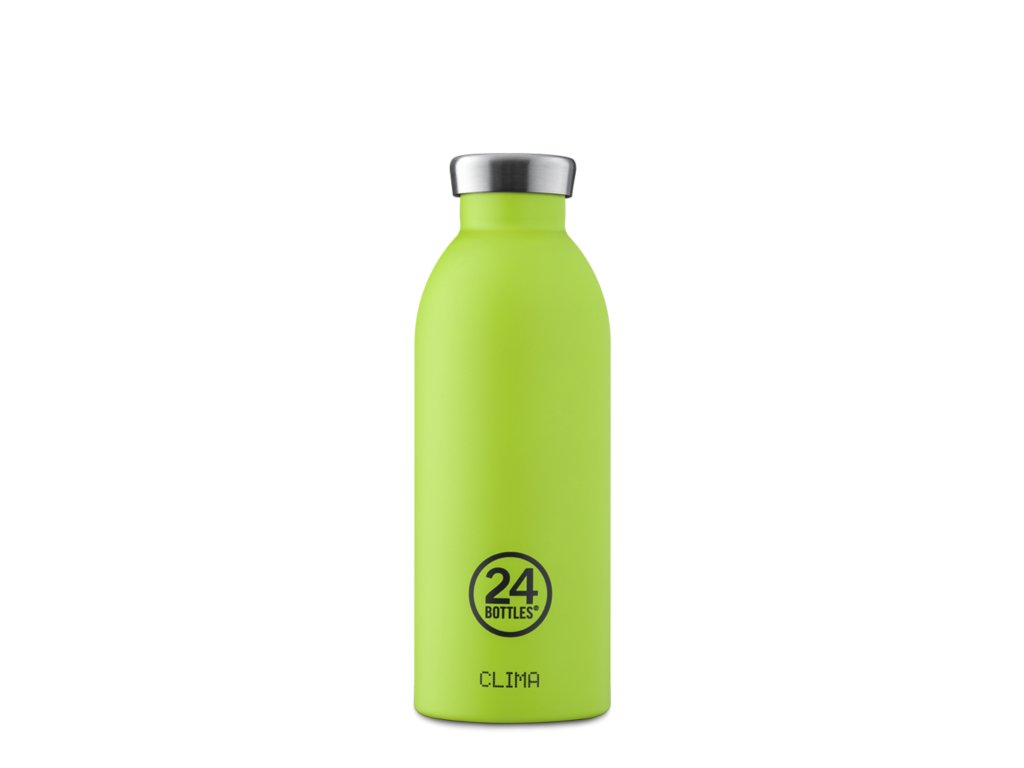 Termoska 24Bottles CLIMA LIME GREEN 0,5 l