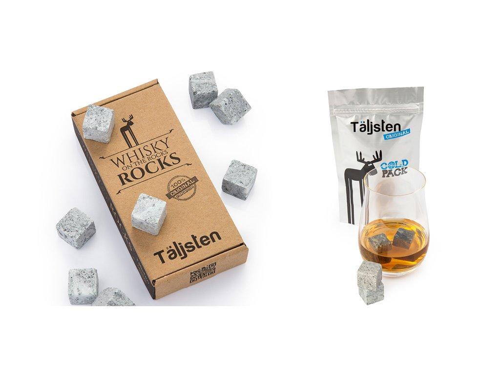 Chladící kamenné kostky TÄLJSTEN WHISKY STONES