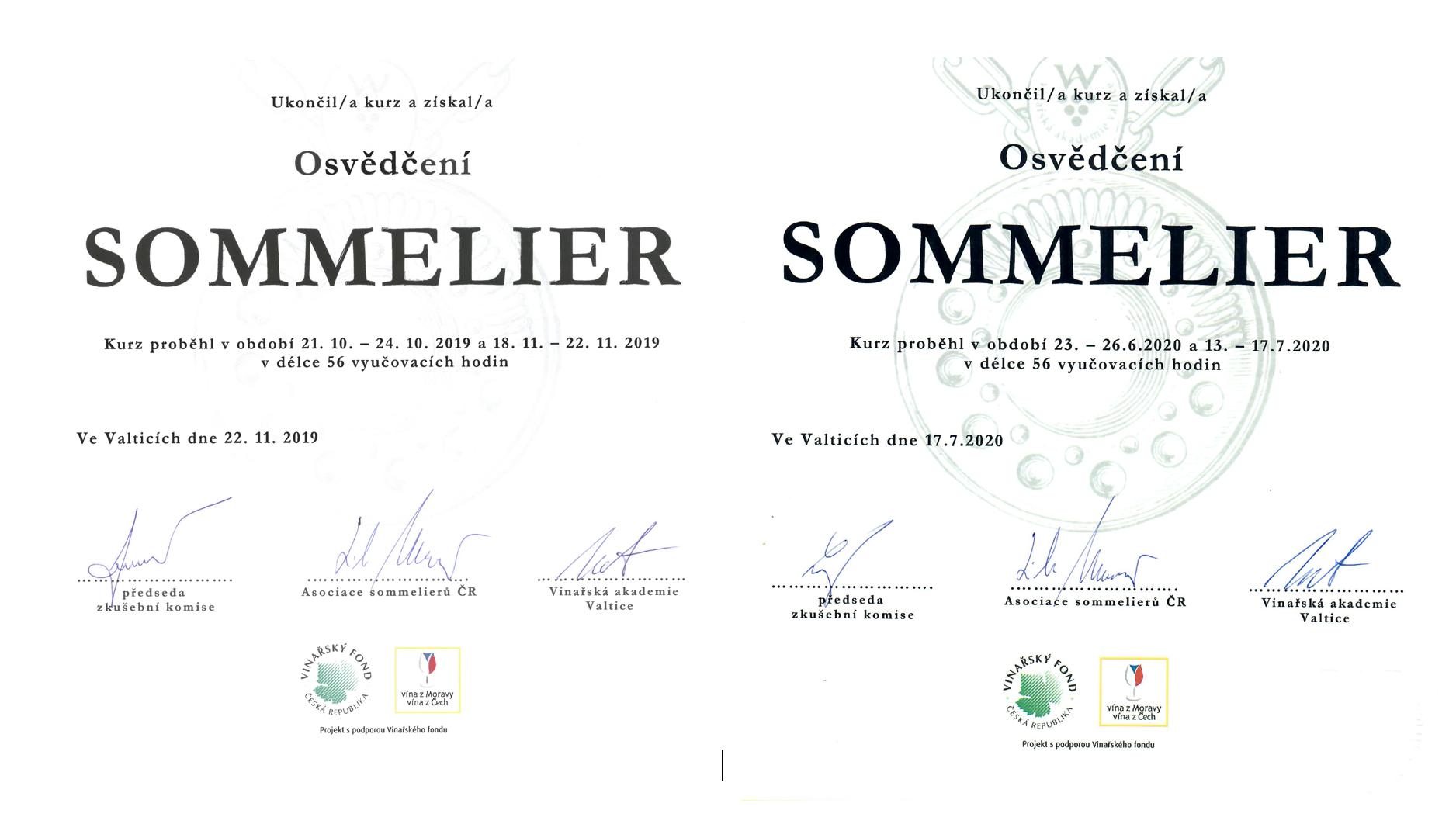 Zebra Wines s certifikovanými sommeliery