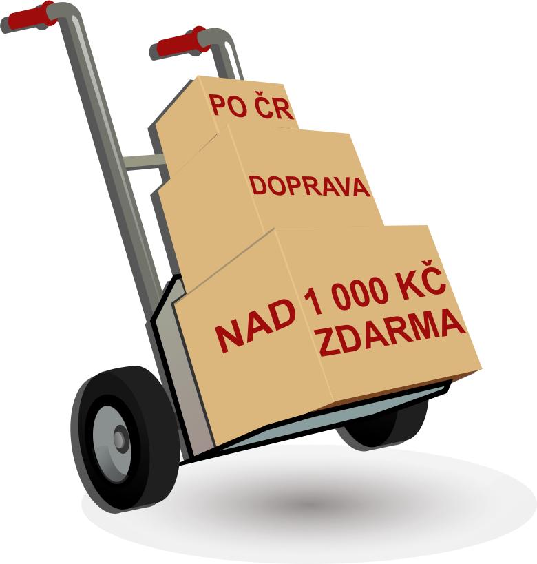Akce doprava nad 1000Kč ZDARMA