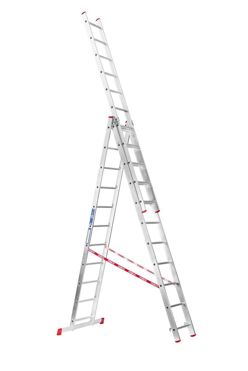 Trojdílný žebřík VENBOS HOBBY 4411 3x11