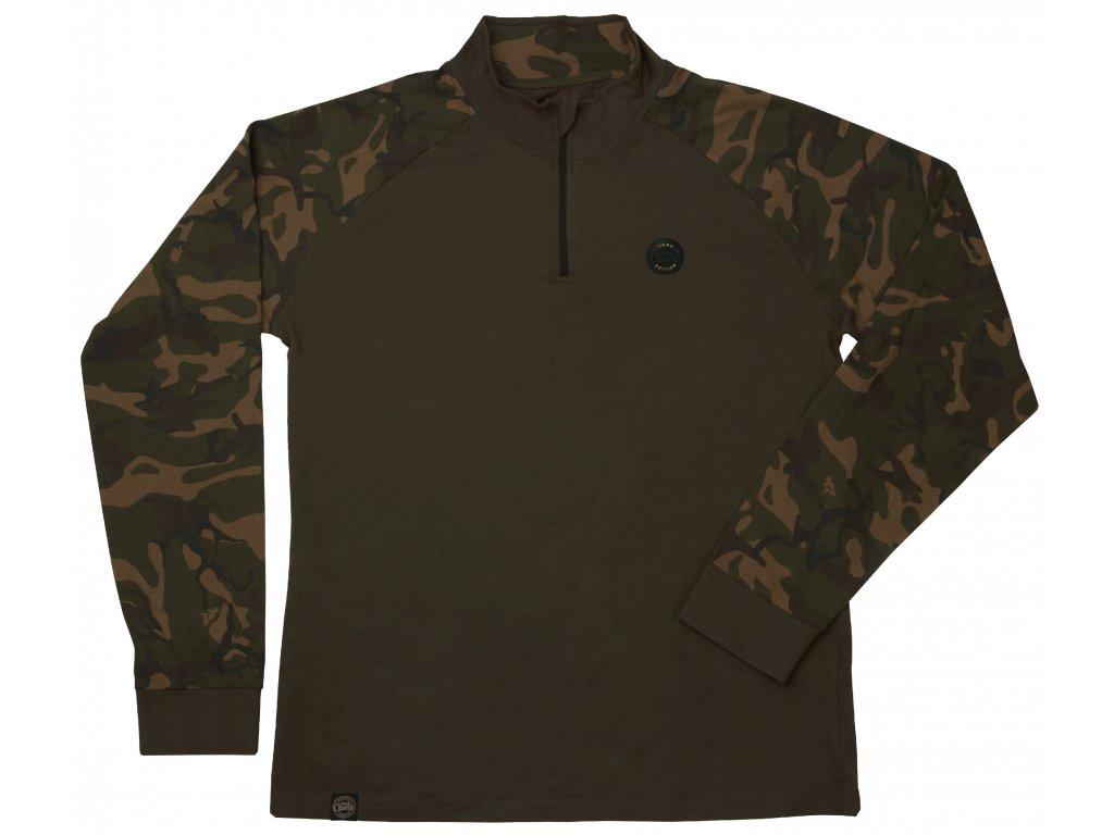 441fe818bd Fox Triko Chunk Camo dark khaki edition L S T-shirt - ZedFish