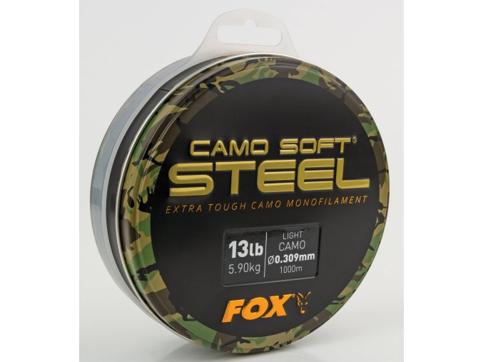 Fox Vlasec Soft Steel Light Camo 1000m