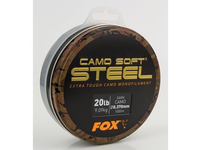 Fox Vlasec Soft Steel Dark Camo 1000m