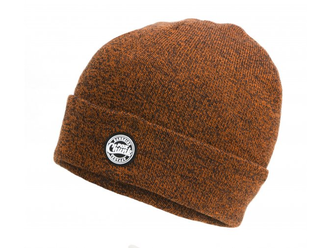 Orange Black Marl Beanie CPR759 main
