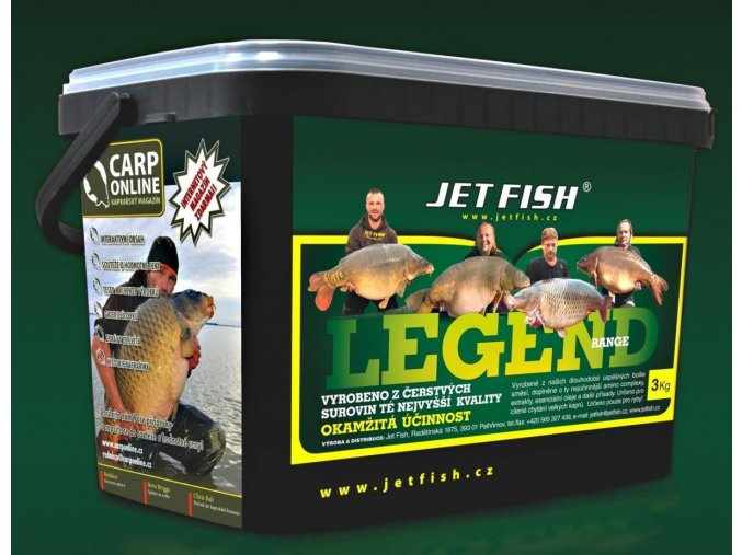 Boilie Jet Fish Legend Range - ROBIN RED BRUSINKA