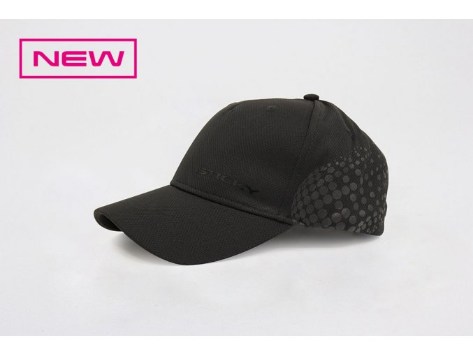 Black Airflow Cap New