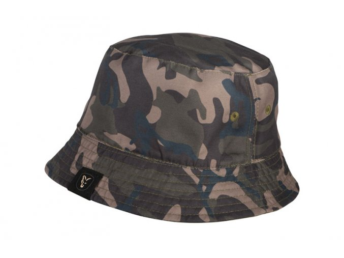 reversable bucket hat camo side