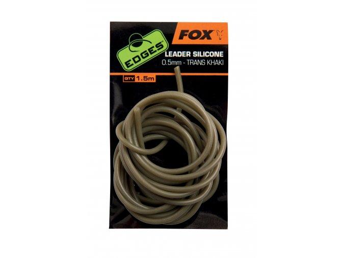 Fox Silikonová hadička Edges Leader Silicone 0,5mm 1,5m