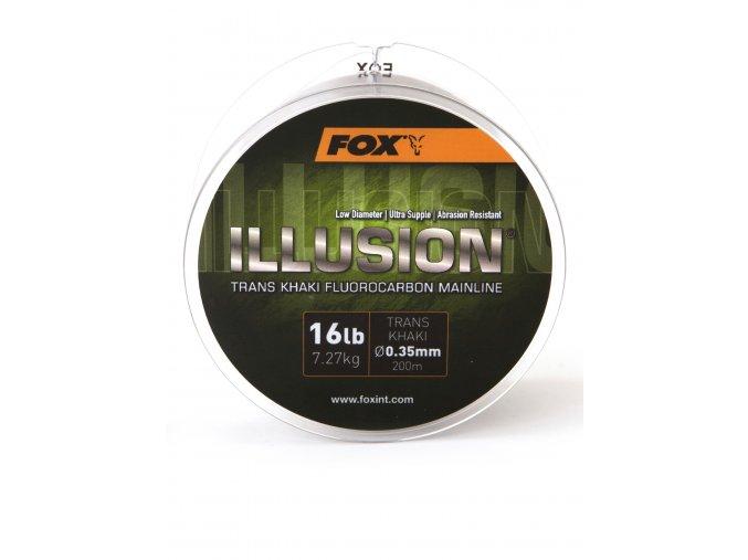Fox Fluorocarbon Illusion Mainline Trans Khaki