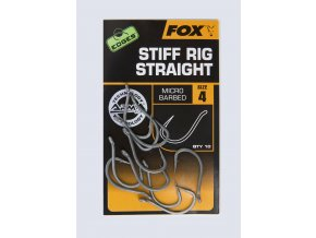 CHK160 166 Stiff Rig Straight Hook pack