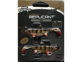 Fox Rage Gumová nástraha Replicant Wobble 10g 7,5cm 2ks