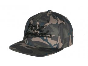 camo fox int snapback cap main