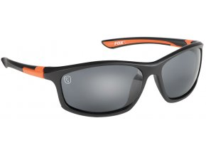 csn043 fox collection black orange frame grey lense