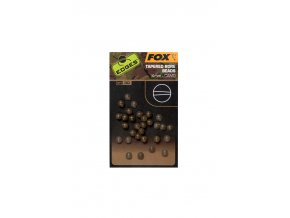 camo tapered bore beads 4mm