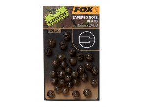 camo tapered bore beads 6mm
