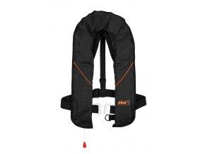 cib040 fox life jacket black orange main