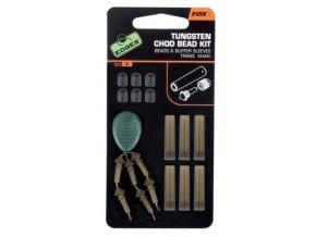 Fox Set na výrobu montáží Tungsten Chod Bead Kit 6ks