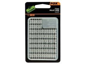 Fox Zarážky na pelety Edges Pellet Pegs Clear 2ks
