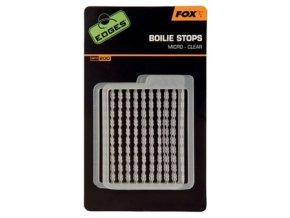 Fox Zarážky na nástrahy Edges Boilie Stops 2ks