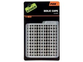 Fox Zarážky na nástrahy Eges Boilie Caps 120ks