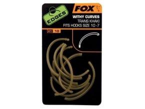Fox Rovnátka na háček Edges Withy Curve Adaptor 10ks