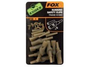 Fox Sestava na únikovou montáž Edges Running Safety Clip 8ks