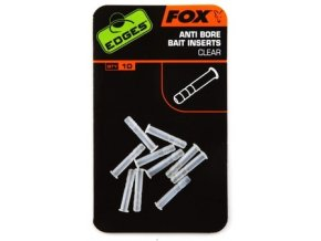 Fox Edges Anti Bore Bait Inserts Clear