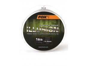 Fox Fluorocarbon Illusion Mainline Trans Khaki