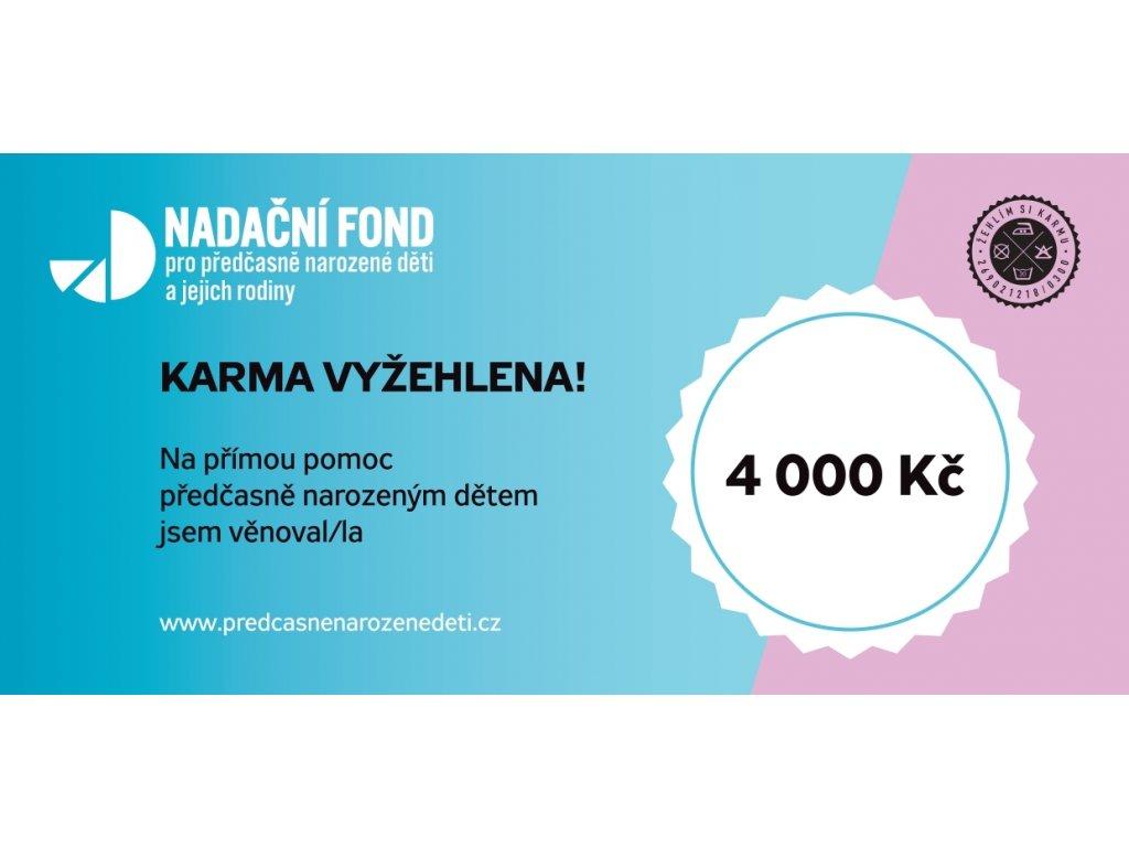 Dárkový poukaz 4000