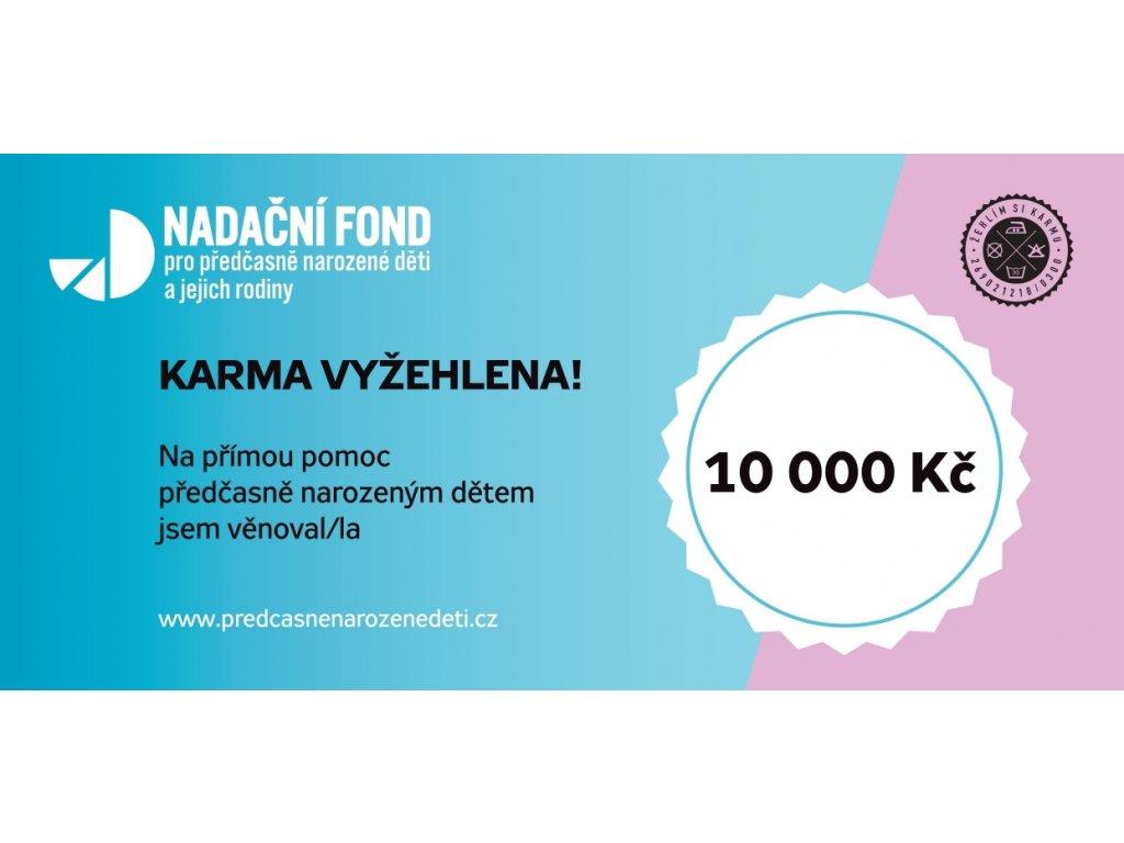 Dárkový poukaz 10 000