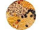 Cestoviny, strukoviny, ryža, obilniny